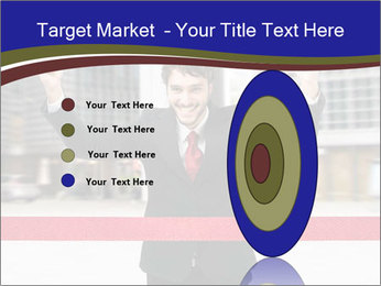 Active businessman running PowerPoint Template - Slide 84