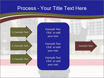 Active businessman running PowerPoint Template - Slide 85