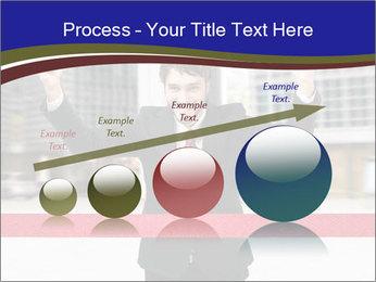 Active businessman running PowerPoint Template - Slide 87
