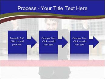 Active businessman running PowerPoint Template - Slide 88