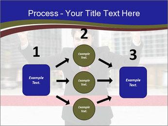 Active businessman running PowerPoint Template - Slide 92