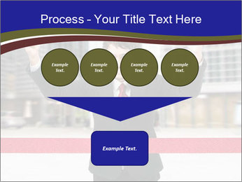 Active businessman running PowerPoint Template - Slide 93