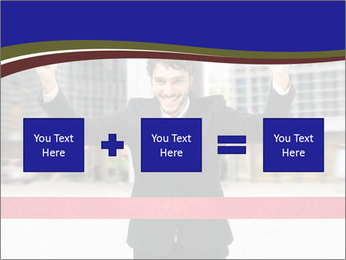 Active businessman running PowerPoint Template - Slide 95