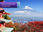 Colors in Japan PowerPoint Templates