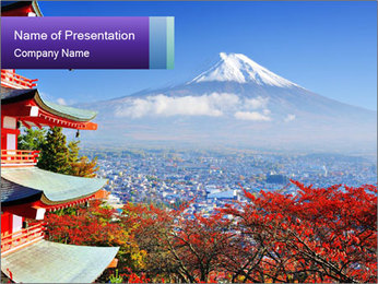 Colors in Japan PowerPoint Templates - Slide 1