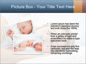 Woman asleep PowerPoint Template - Slide 20