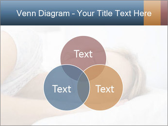 Woman asleep PowerPoint Template - Slide 33