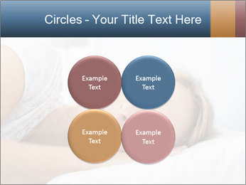 Woman asleep PowerPoint Template - Slide 38