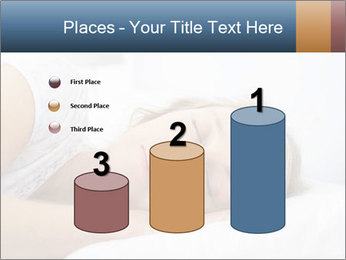 Woman asleep PowerPoint Template - Slide 65