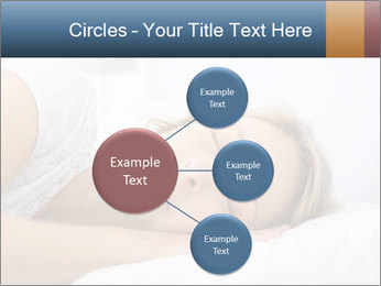 Woman asleep PowerPoint Template - Slide 79