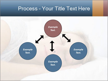 Woman asleep PowerPoint Template - Slide 91