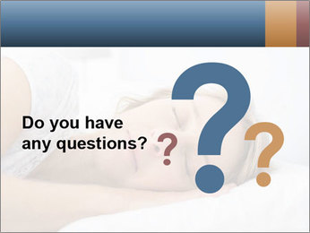 Woman asleep PowerPoint Template - Slide 96