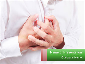 Heart attack PowerPoint Templates - Slide 1