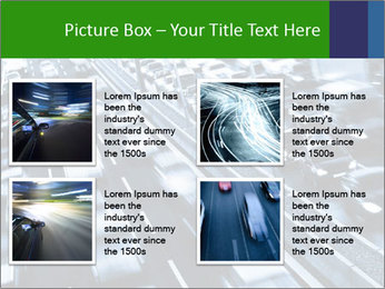 Congestion on a higway PowerPoint Templates - Slide 14