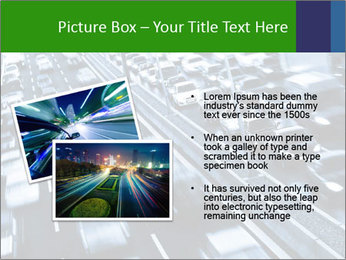 Congestion on a higway PowerPoint Templates - Slide 20