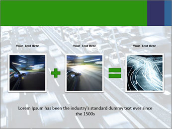 Congestion on a higway PowerPoint Templates - Slide 22