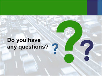 Congestion on a higway PowerPoint Templates - Slide 96