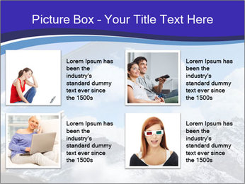 Image of young woman PowerPoint Templates - Slide 14