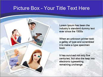 Image of young woman PowerPoint Templates - Slide 23
