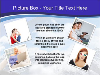 Image of young woman PowerPoint Templates - Slide 24