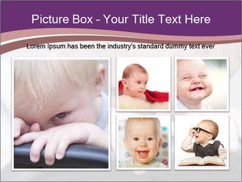 Baby boy PowerPoint Templates - Slide 19