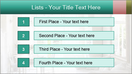 Home PowerPoint Template - Slide 3