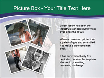 Rock girl PowerPoint Template - Slide 23