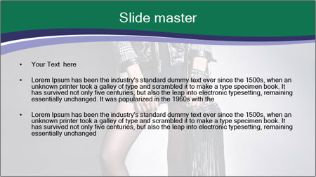 Rock girl PowerPoint Template - Slide 2