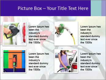 Gas station pump PowerPoint Templates - Slide 14
