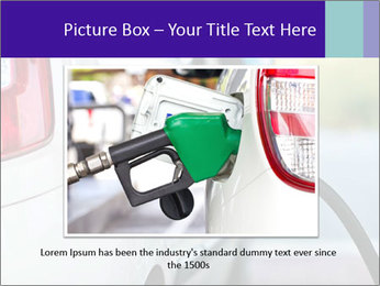 Gas station pump PowerPoint Templates - Slide 15