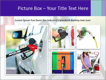 Gas station pump PowerPoint Templates - Slide 19