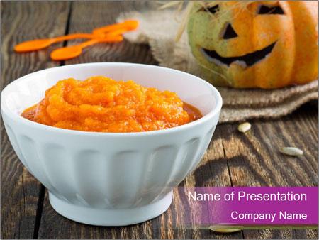 Pumpkin porridge PowerPoint Templates