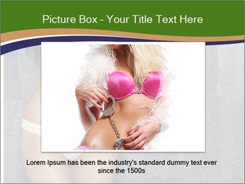 Sexy underwear body PowerPoint Templates - Slide 16