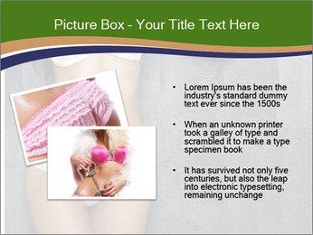 Sexy underwear body PowerPoint Template - Slide 20