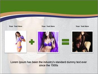 Sexy underwear body PowerPoint Template - Slide 22