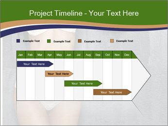Sexy underwear body PowerPoint Template - Slide 25