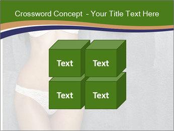 Sexy underwear body PowerPoint Template - Slide 39