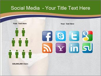 Sexy underwear body PowerPoint Template - Slide 5