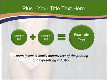 Sexy underwear body PowerPoint Template - Slide 75