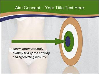 Sexy underwear body PowerPoint Templates - Slide 83