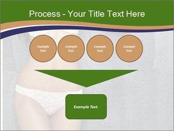 Sexy underwear body PowerPoint Template - Slide 93