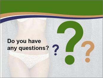 Sexy underwear body PowerPoint Template - Slide 96