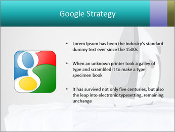 Ironing a white shirt PowerPoint Template - Slide 10