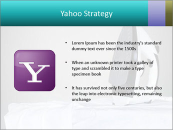 Ironing a white shirt PowerPoint Template - Slide 11