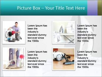 Ironing a white shirt PowerPoint Template - Slide 14