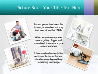 Ironing a white shirt PowerPoint Template - Slide 24