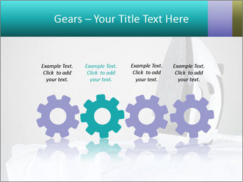 Ironing a white shirt PowerPoint Templates - Slide 48
