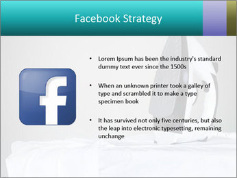 Ironing a white shirt PowerPoint Template - Slide 6