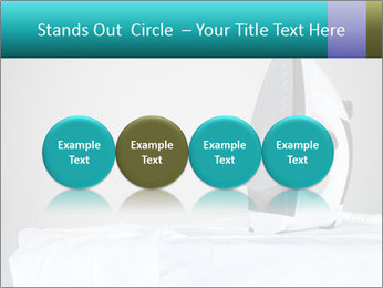 Ironing a white shirt PowerPoint Template - Slide 76