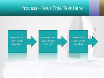 Ironing a white shirt PowerPoint Template - Slide 88